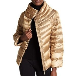 SALE -- Sam Edelman Gold Down Puffer Jacket (NWT)